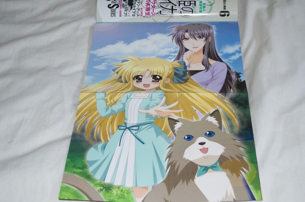 Haruhichan.com NyanType June 2014 posters  alicia testarossa higa yukari mahou shoujo lyrical nanoha neko precia testarossa 2