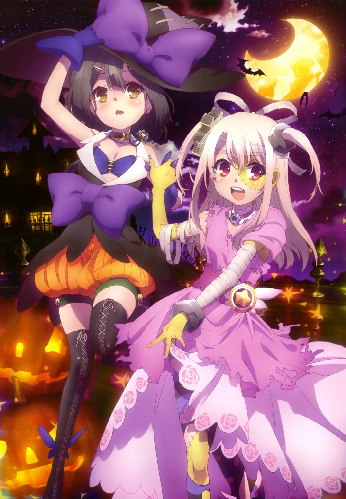 Haruhichan.com NyanType Magazine December 2014 anime posters fate stay night state kaleid liner prisma illya