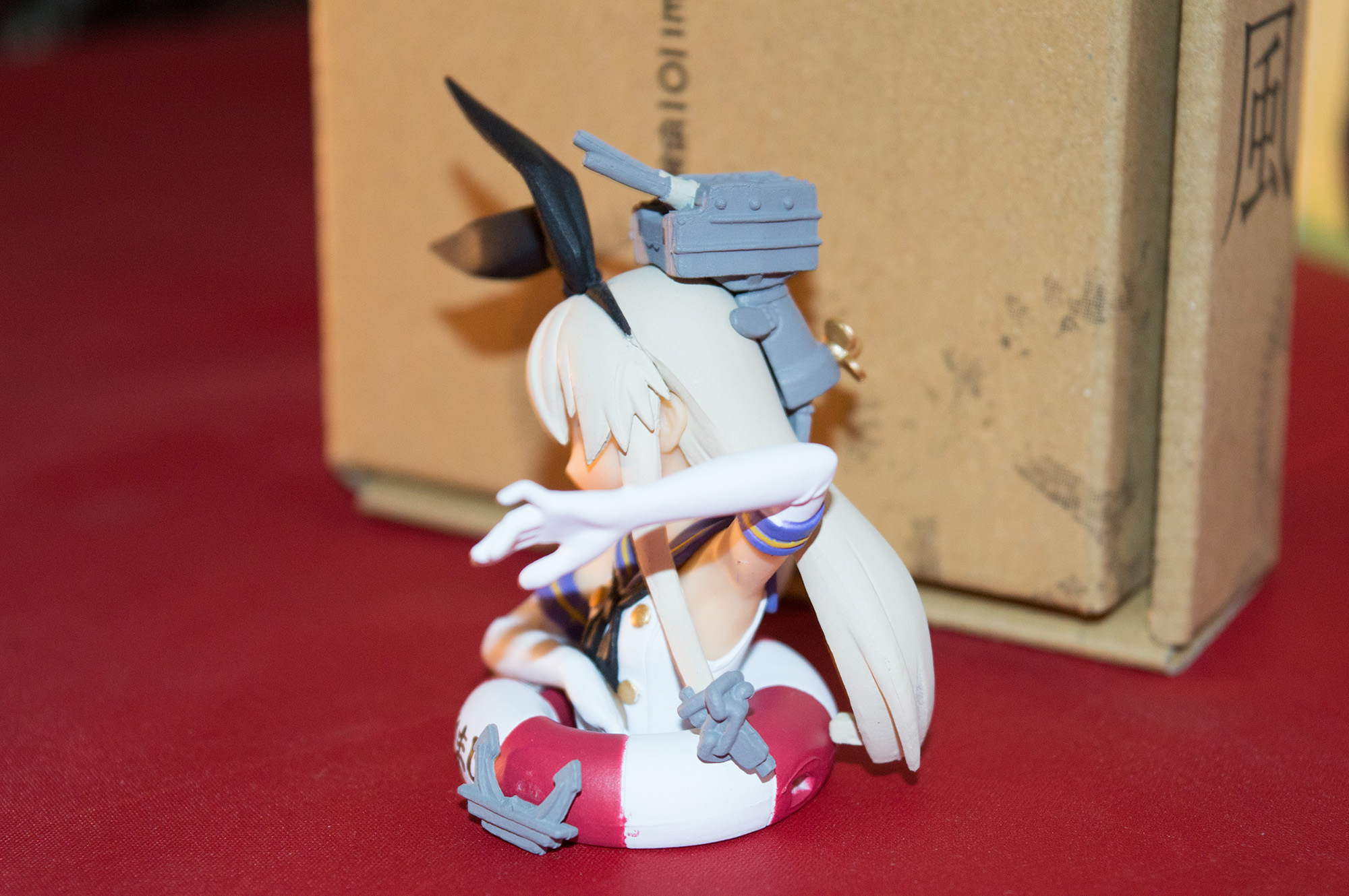 Haruhichan.com NyanType Magazine February 2015 anime Kantai Collection Shimakaze figure 6