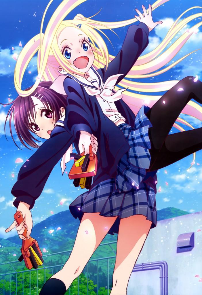 Haruhichan.com NyanType September 2014 posters hana_n._fontainestand hanayamata pantyhose seifuku sekiya_naru