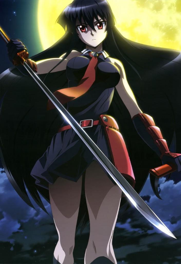 Haruhichan.com NyanType magazine August 2014 posters akame akame_ga_kill! sword