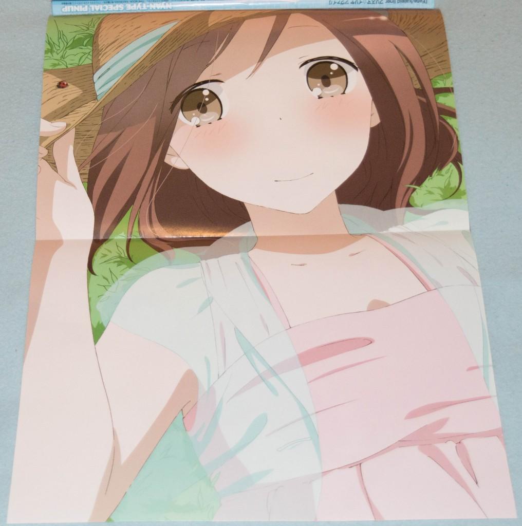Haruhichan.com NyanType magazine August 2014 posters fujimiya_kaori isshuukan_friends 2