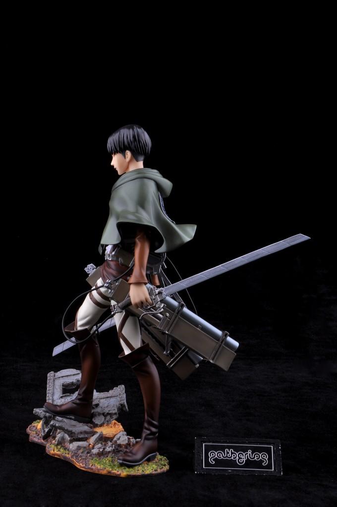 Haruhichan.com Shingeki no Kyojin Attack on Titan Levi Prepainted 11