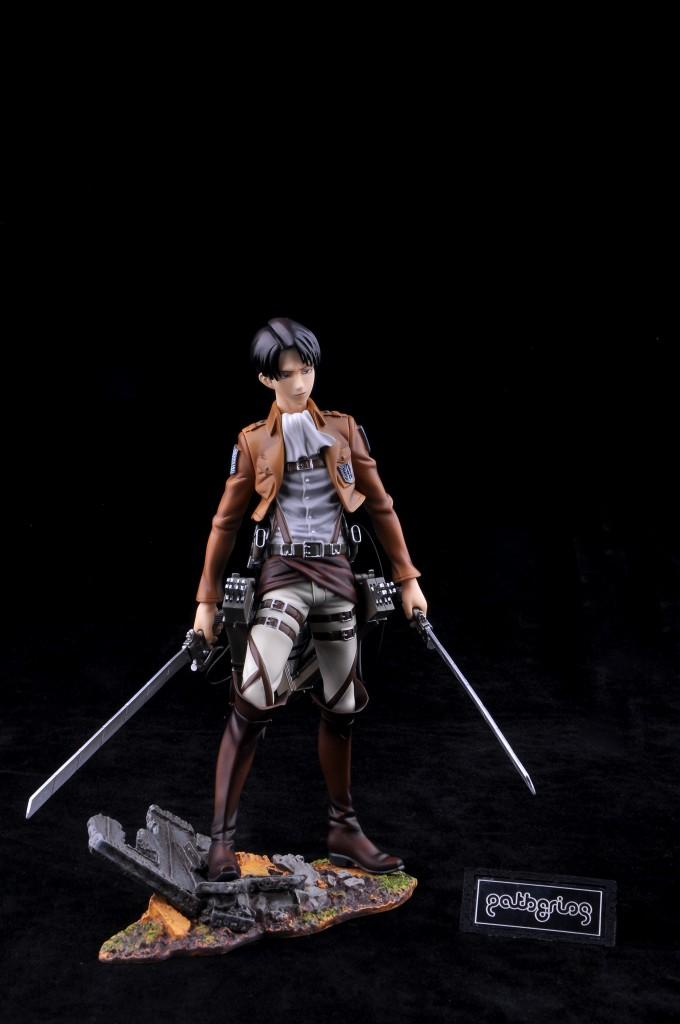 Haruhichan.com Shingeki no Kyojin Attack on Titan Levi Prepainted 13