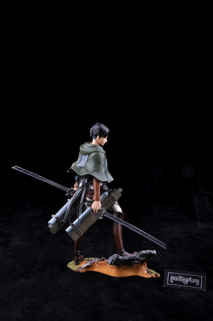 Haruhichan.com Shingeki no Kyojin Attack on Titan Levi Prepainted 8