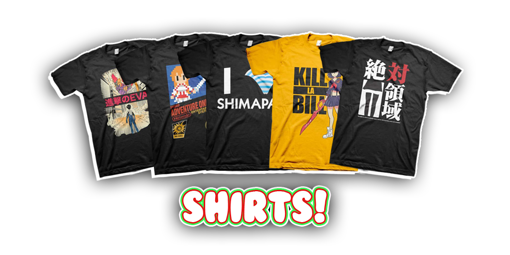 Haruhichan's 4th Annual Christmas Giveaway Anime themed T-Shirts by JList