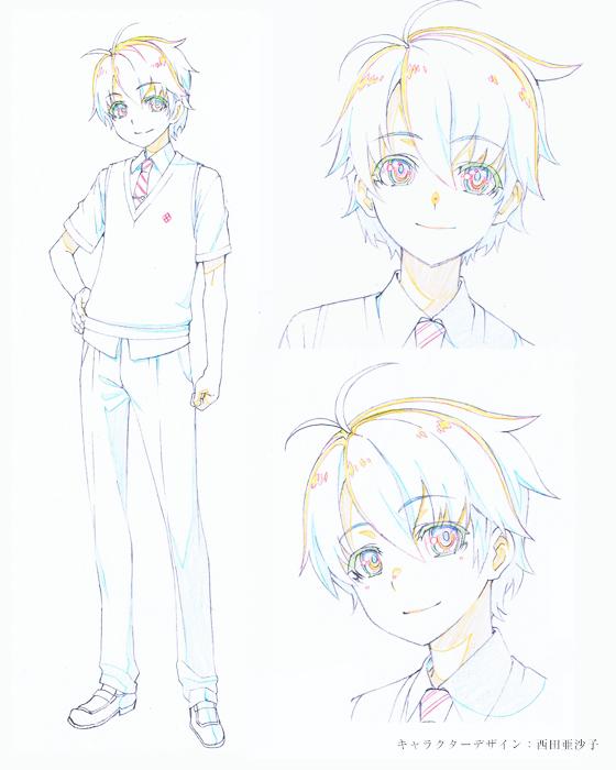 Haruta Kamijou Char Design