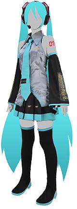 Hatsune Miku Costume Set