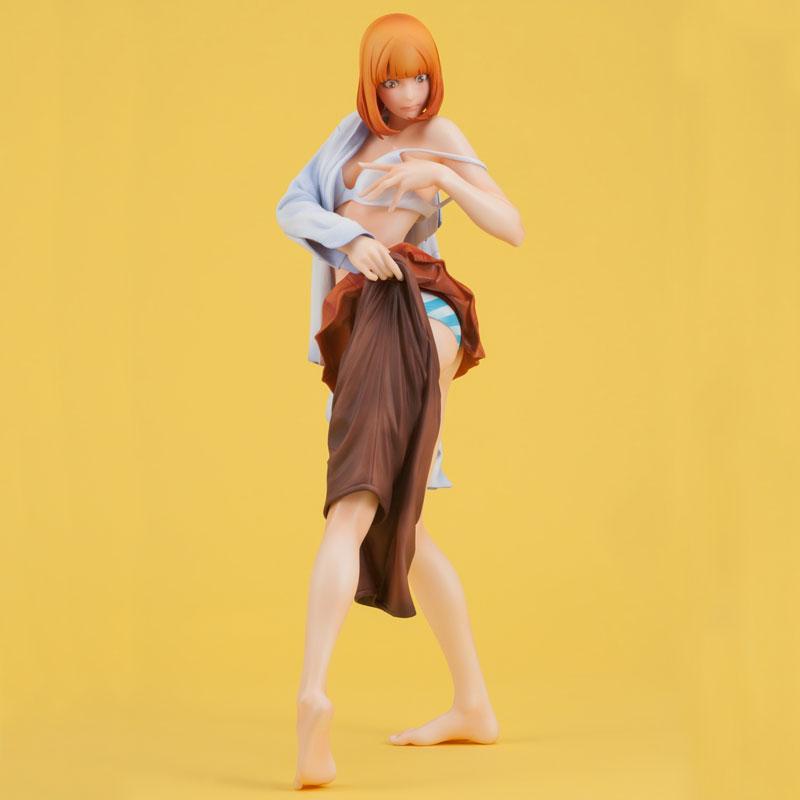 Hdge technical statue No.14 Prison School Hana Midorikawa Anime Figure 0011