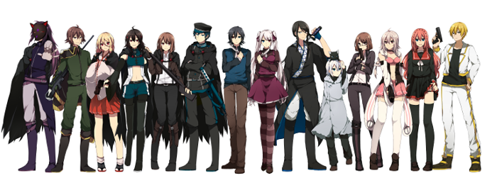Heisei Project Characters