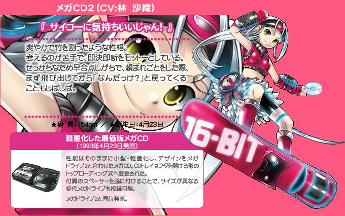 Hi☆sCoool! Seha Girls Sega Hard Girls Mega CD2 haruhichan.com Hi☆sCoool! セハガール