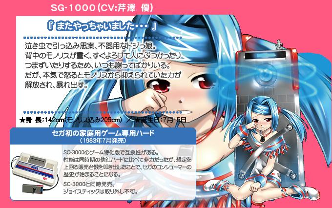 Hi☆sCoool! Seha Girls Sega Hard Girls SG-1000 haruhichan.com Hi☆sCoool! セハガール