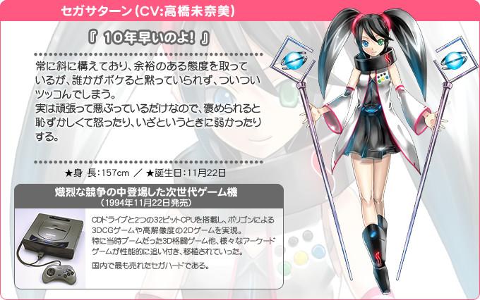 Hi☆sCoool! Seha Girls Sega Hard Girls Sega Saturn haruhichan.com Hi☆sCoool! セハガール