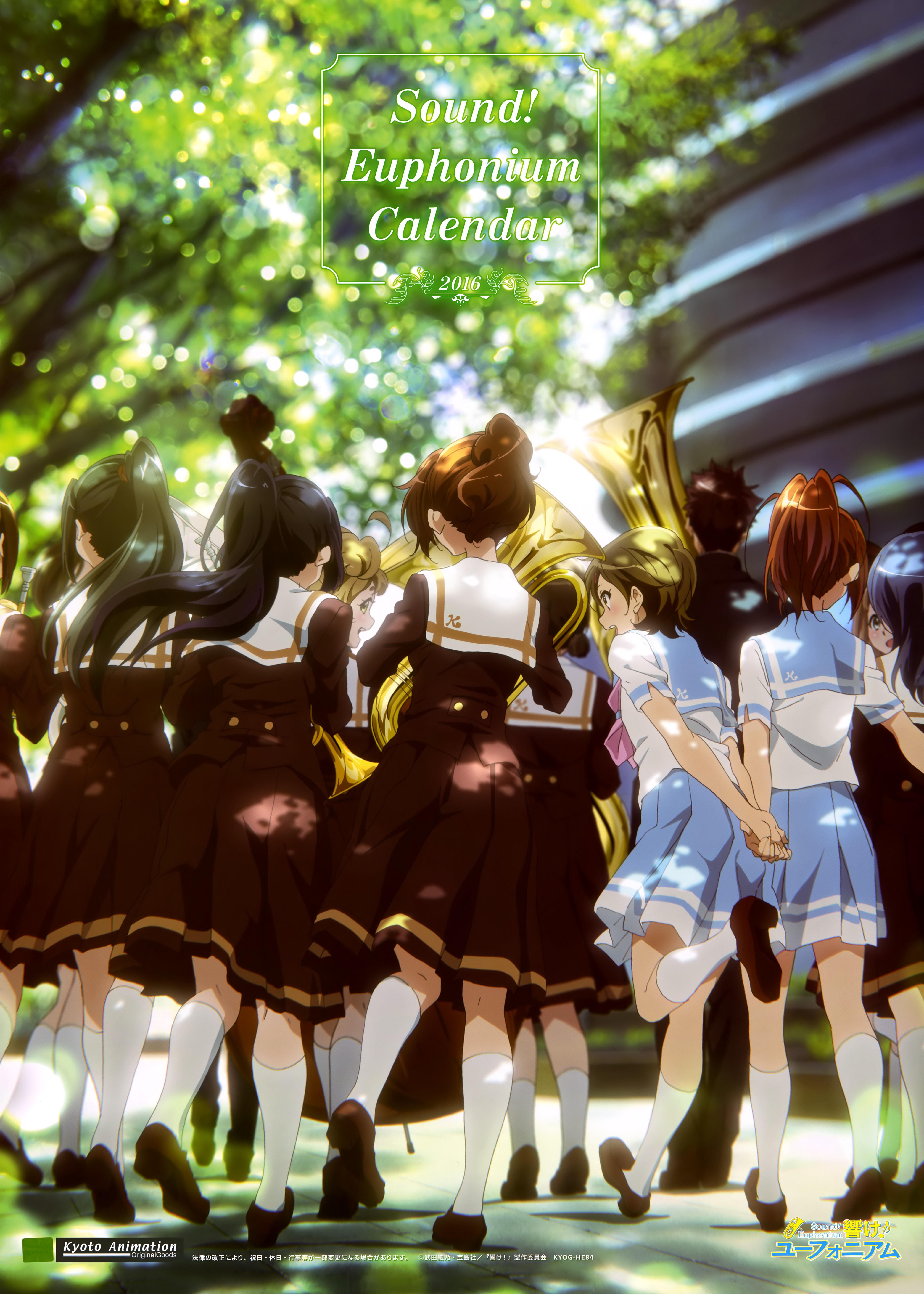 Hibike! Euphonium Anime calendar 2016 0000
