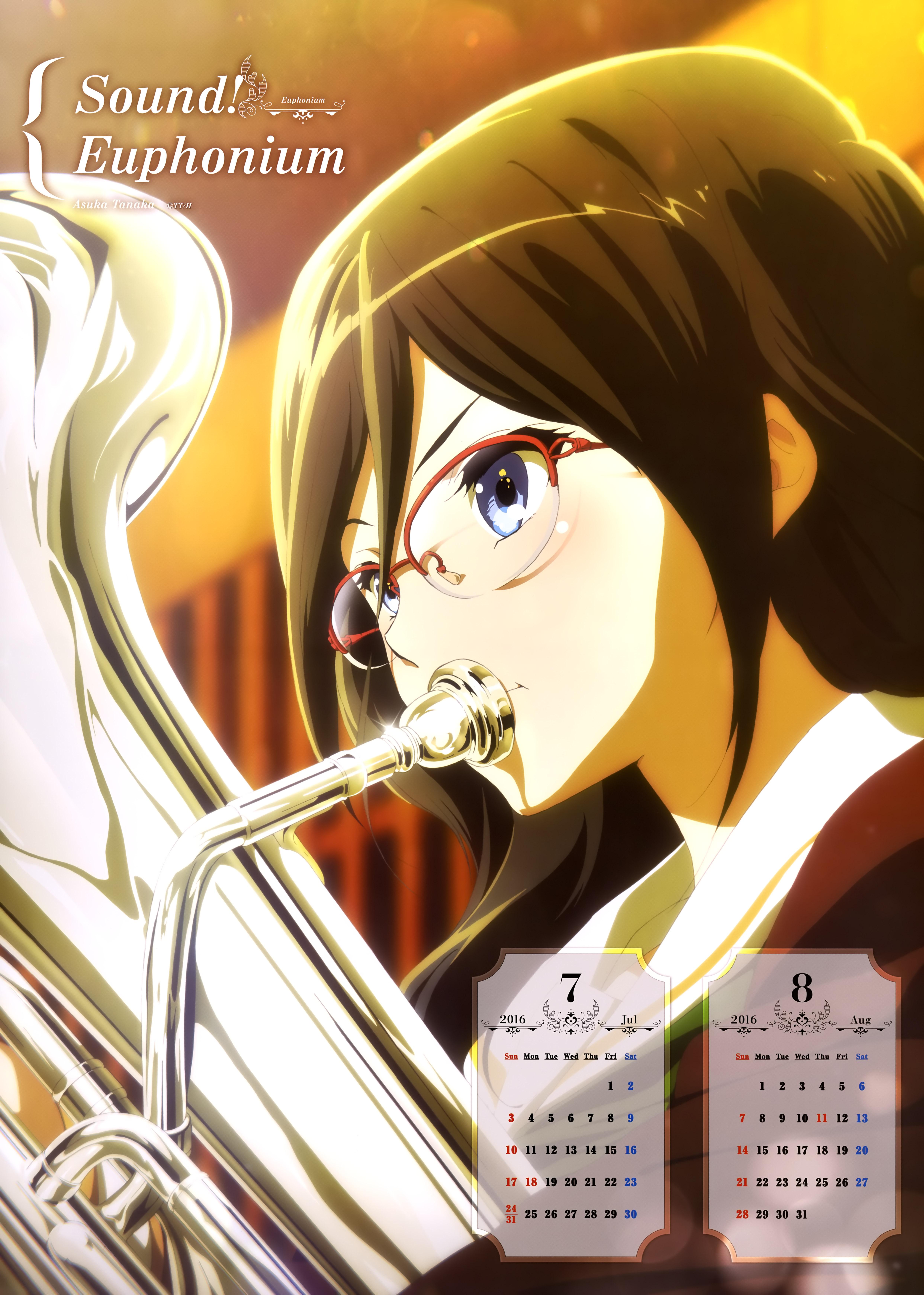 Hibike! Euphonium Anime calendar 2016 0004