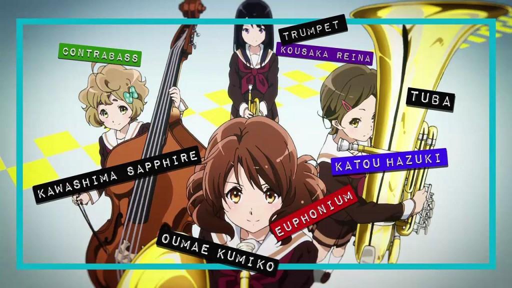 Hibike Euphonium Main Characters