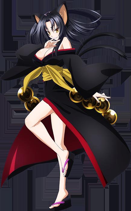 Highschool DxD BorN character design Kuroka