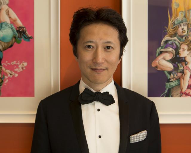 Hirohiko Araki Jojo's bizzare adventure