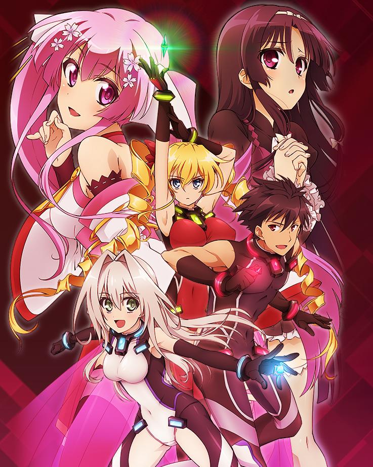 Hundred TV anime key visual