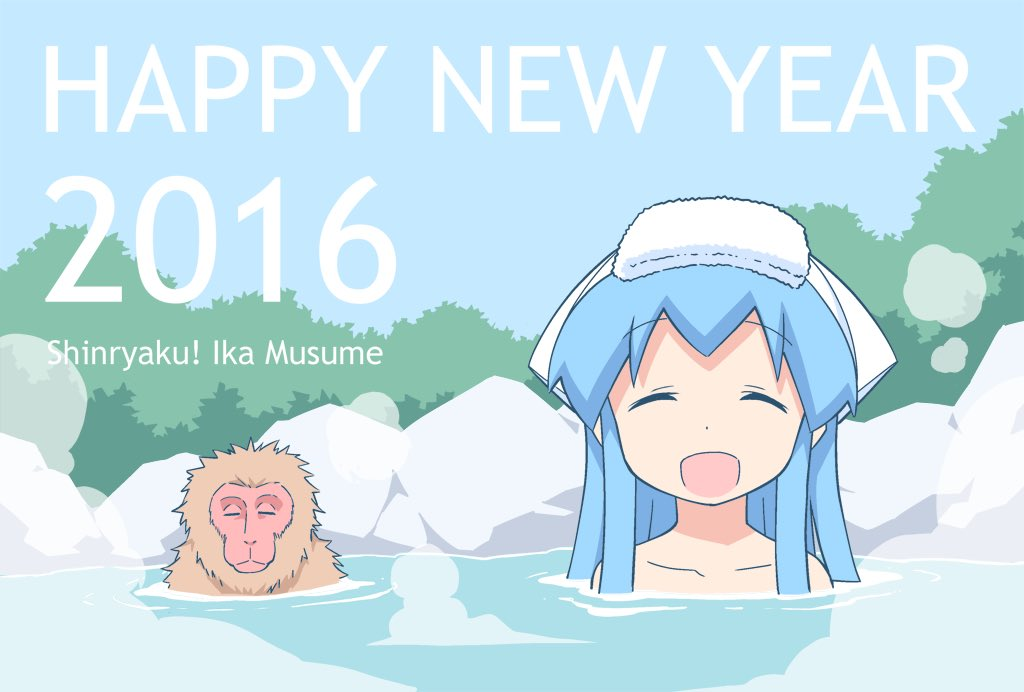 Ika Musume Welcomes the New Year