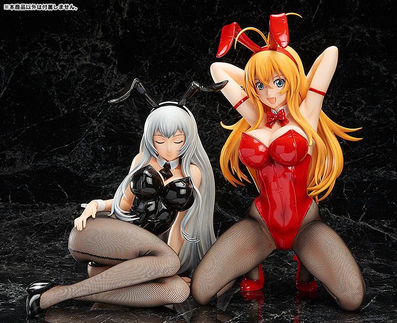 Ikkitousen Extravaganza Epoch Hakufu Sonsaku Bunny Version anime figure 0006