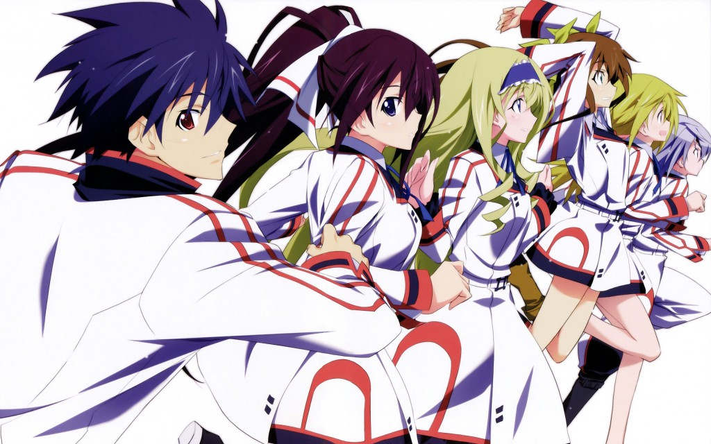 Infinite Stratos 2 anime