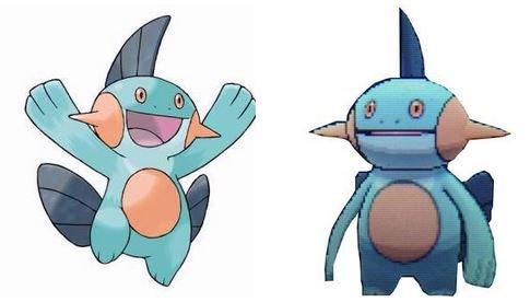 Internet Reacts to Marshtomp from Pokemon Omega Ruby and Alpha Sapphire haruhichan.com Marshstomp