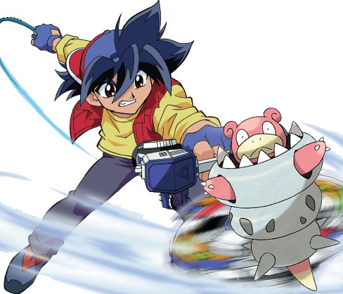 Internet Reacts to Mega Slowbro Pokemon Omega Ruby Alpha Sapphire Beyblade Anime haruhichan.com