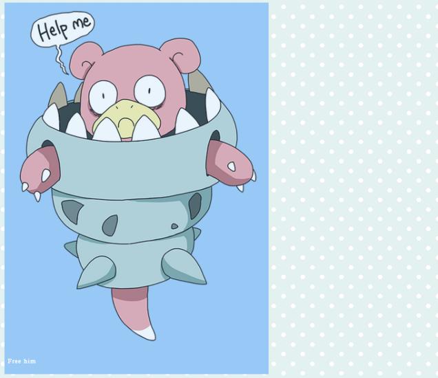 Internet Reacts to Mega Slowbro Pokemon Omega Ruby Alpha Sapphire derp help Anime haruhichan.com