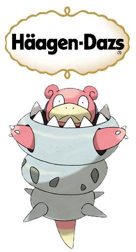 Internet Reacts to Mega Slowbro Pokemon Omega Ruby Alpha Sapphire ice cream Anime haruhichan.com