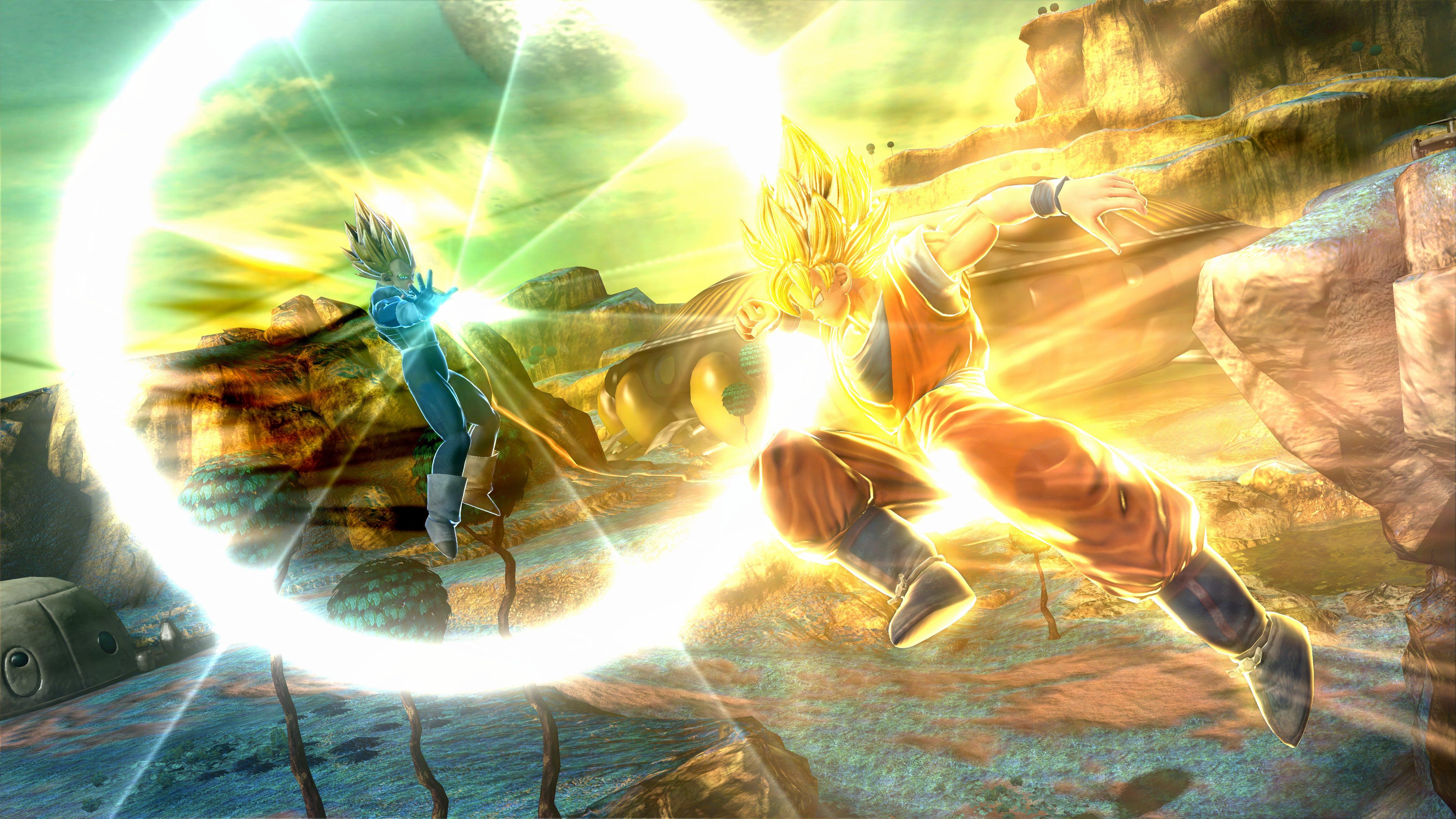 J-Stars Victory VS+ Goku Vegeta Haruhichan.com