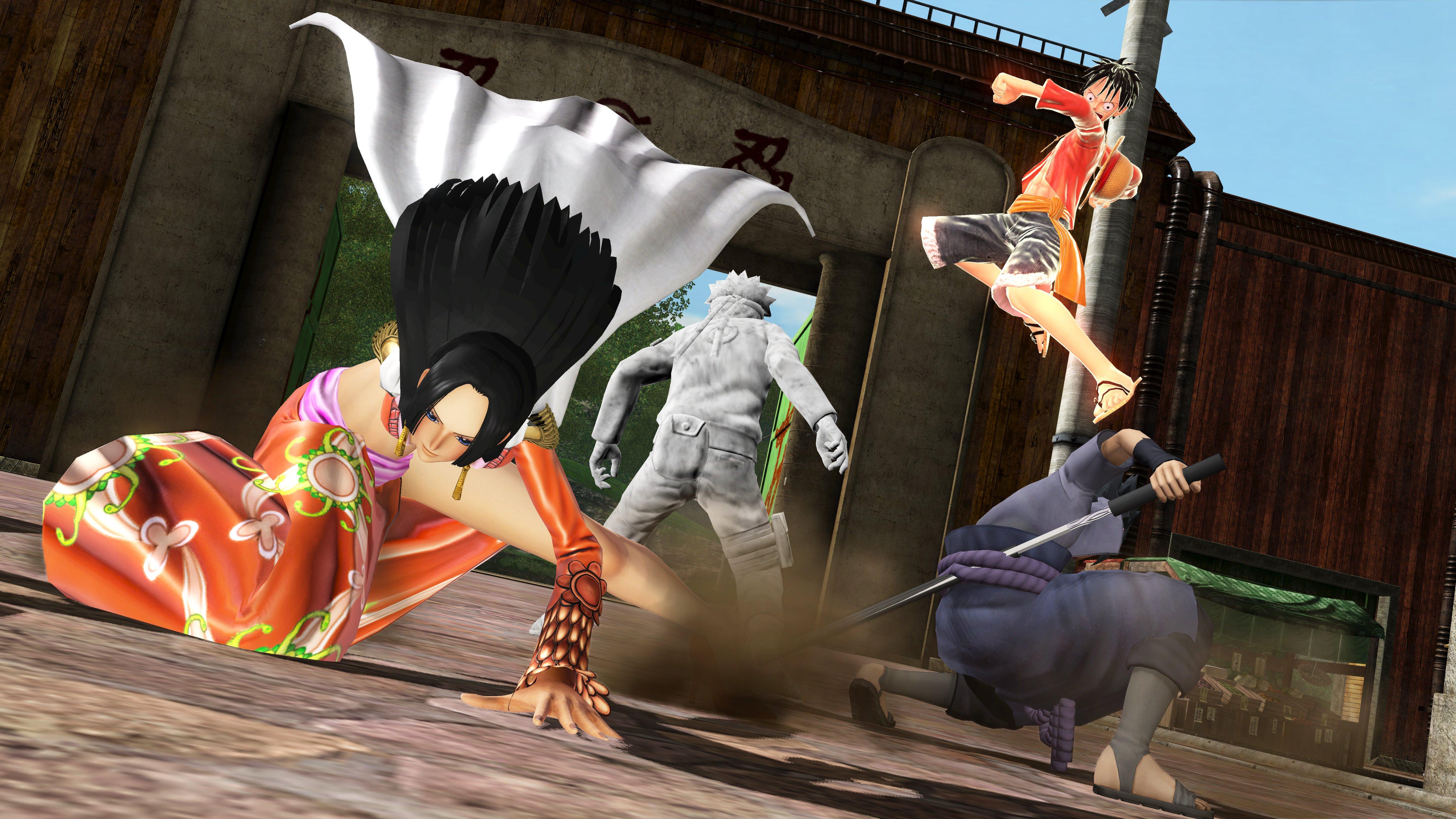 J-Stars Victory VS+ One Piece Naruto Boa Sasuke Luffy Haruhichan.com