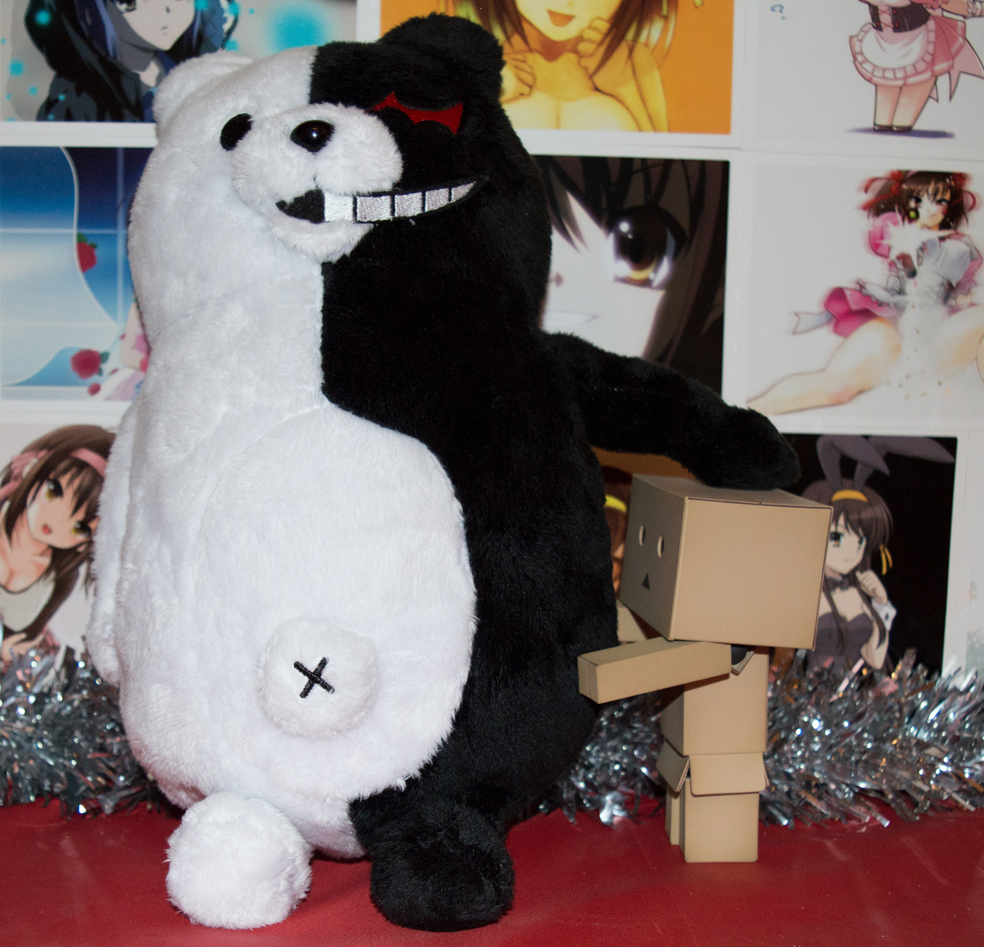 JList Fuku-Bukuro Lucky Anime Toy Set Overview haruhichan.com Danganronpa - Monokuma Plush