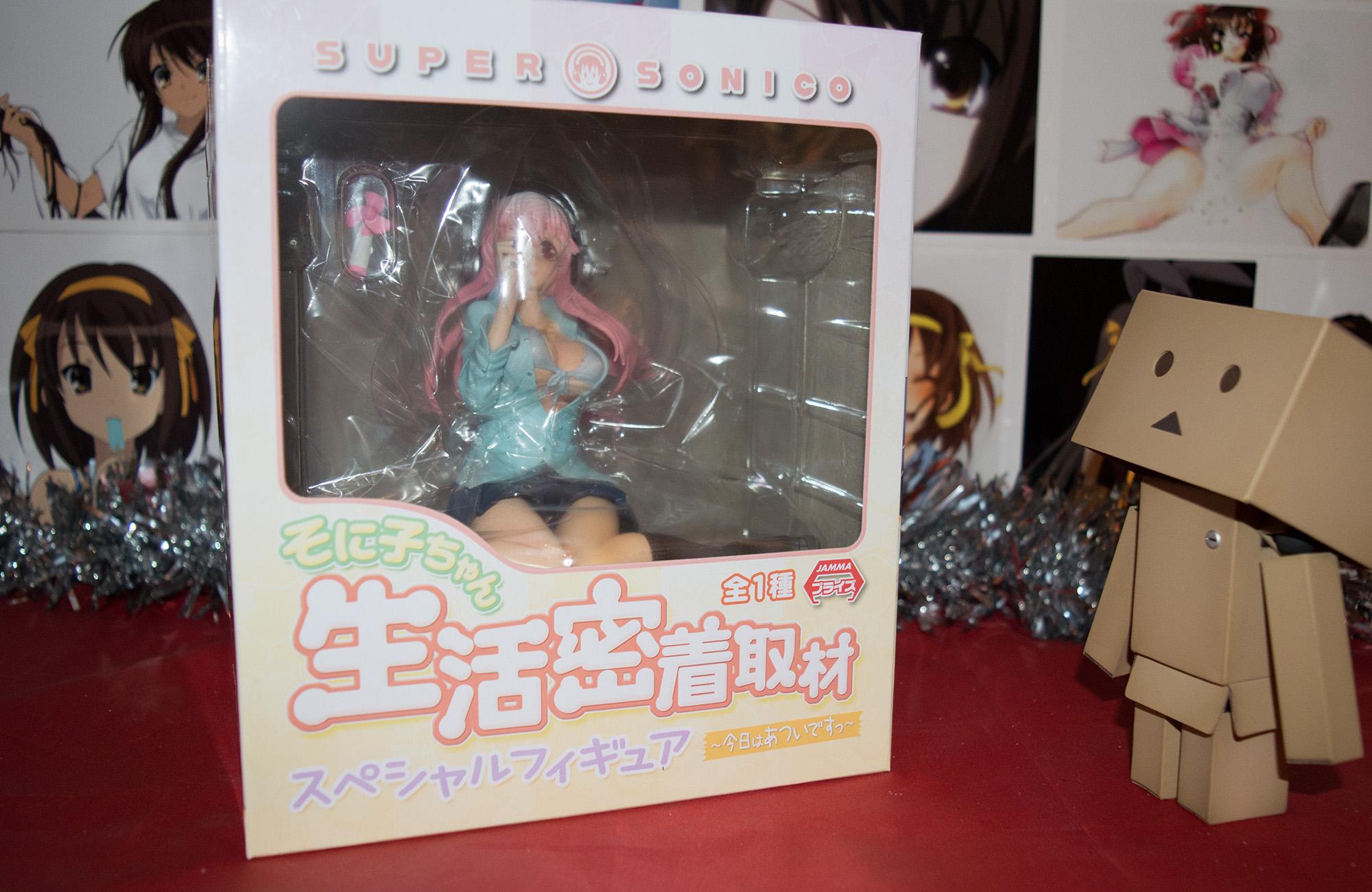 JList Fuku-Bukuro Lucky Anime Toy Set Overview haruhichan.com Nitro Super Sonic - Sonico - Kyou wa Atsui Desu ver