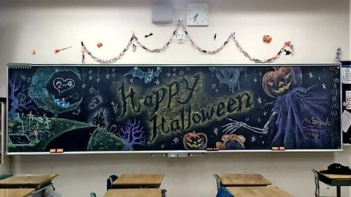 Japan Takes Drawing on a Chalkboard to a New Level haruhichan.com Real life events chalkboard 7