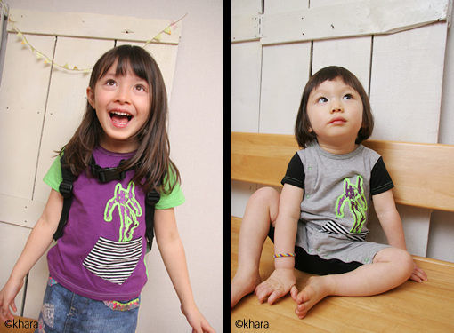 Japan Turns Shinji and Kaworu into Child Clothing Models for New GeeWhiz Line 12