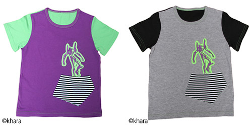 Japan Turns Shinji and Kaworu into Child Clothing Models for New GeeWhiz Line 7