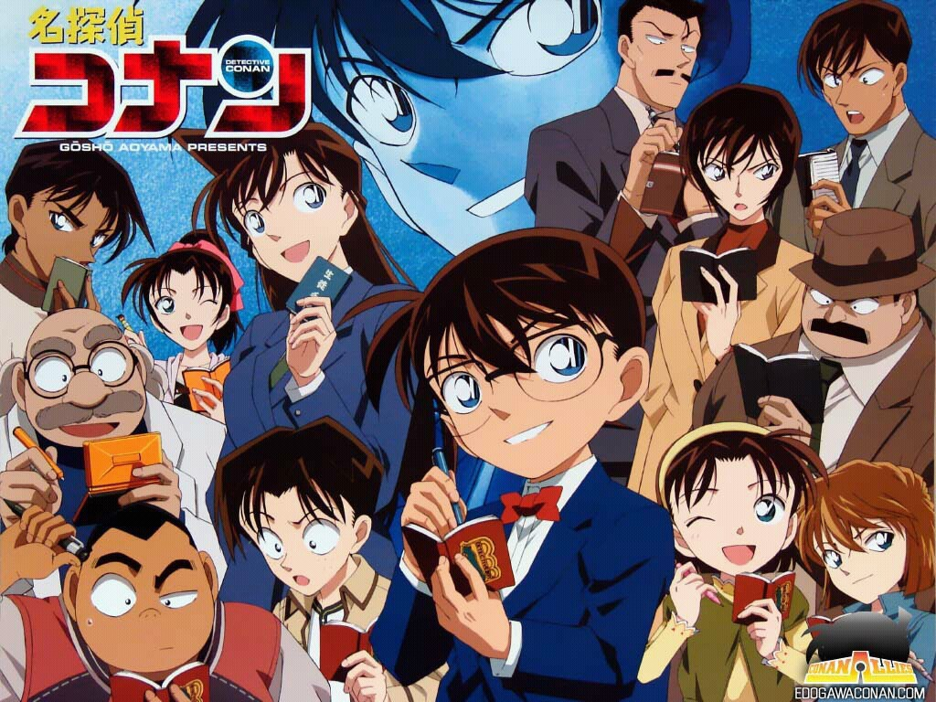 Japanese Airport Gets Named after Detective Conan haruhichan.com Detective Conan case close anime visual
