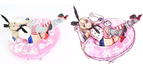 Japanese Artists Illustrates Cosplayers