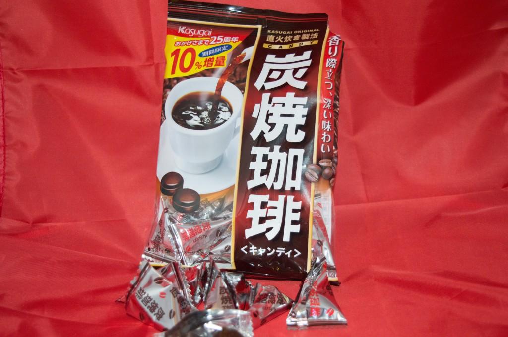 Jlist.com Haruhichan.com Kasugai Charcoal Roasted Coffee Candy