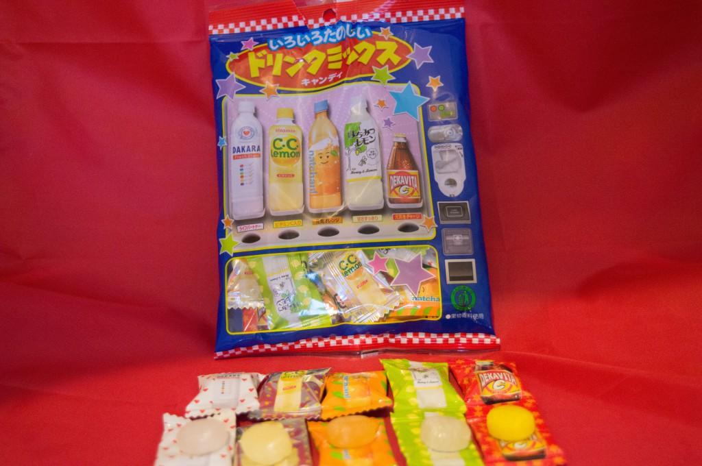 Jlist.com Haruhichan.com Lotte Drink Mix Candy