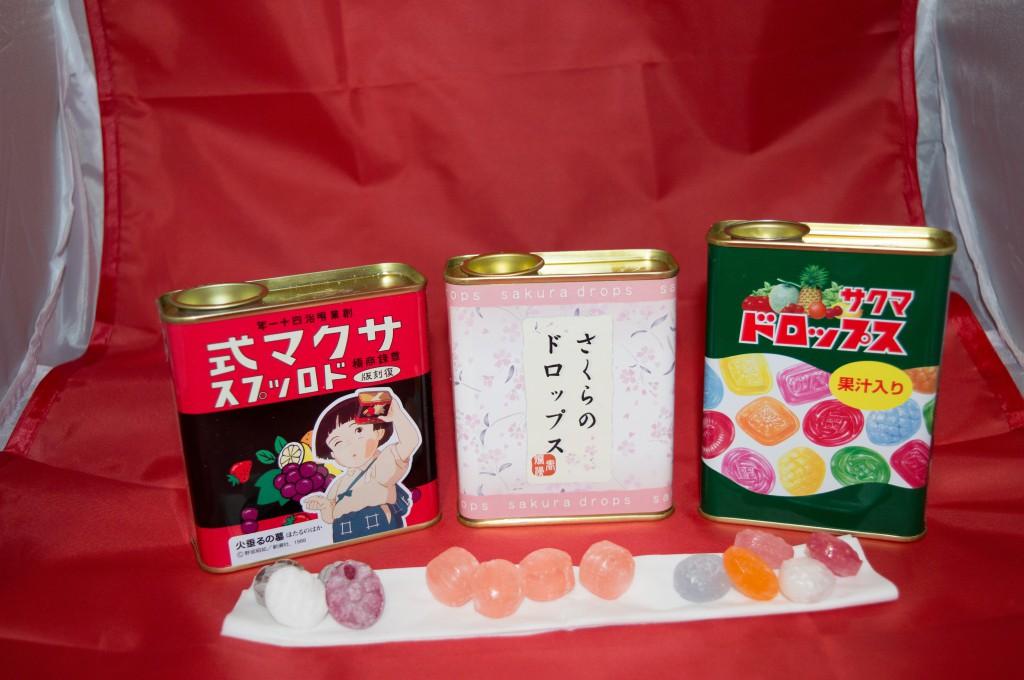 Jlist.com Haruhichan.com Sakuma Drop ~ Grave of the Fireflies Limited Edition Sakuma Drops Candy (Normal Edition) Sakura Canned Drop Candies