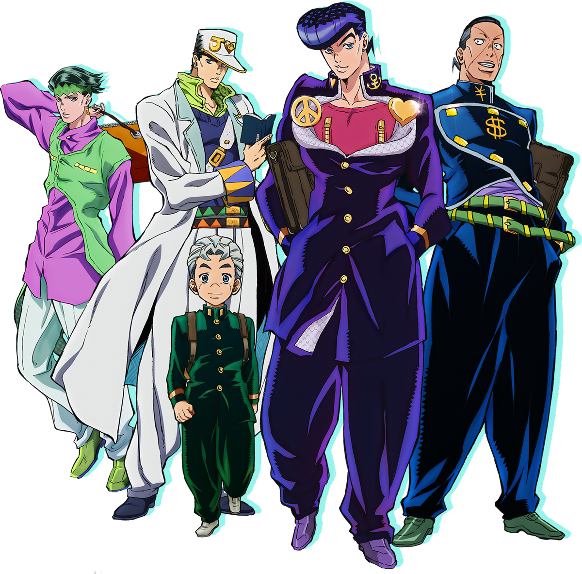 JoJo's Bizarre Adventure Part 4 TV Anime Visual