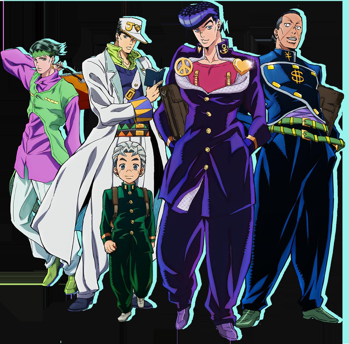 JoJo's Bizarre Adventure Part 4 TV Anime Visual
