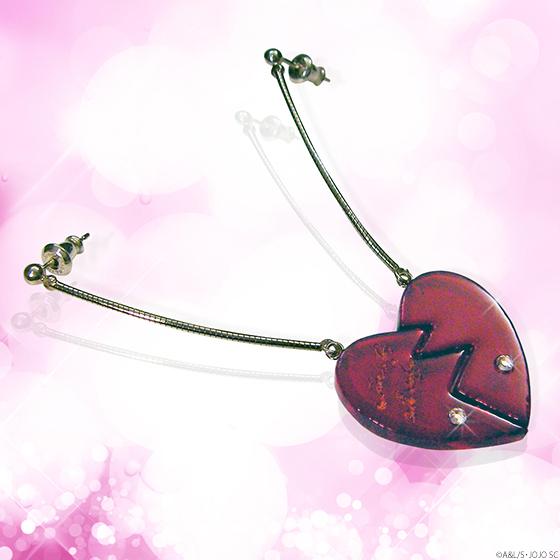 JoJo's Bizarre Adventure Jean-Pierre Polnareff earrings replicas go on sale by Premium Bandai 2