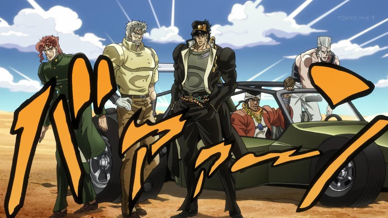 JoJo's Bizarre Adventure Stardust Crusaders Anime Returns next Year haruhichan.com ジョジョの奇妙な冒険 スターダストクルセイダース Dai San Bu Kujo Jotaro 1