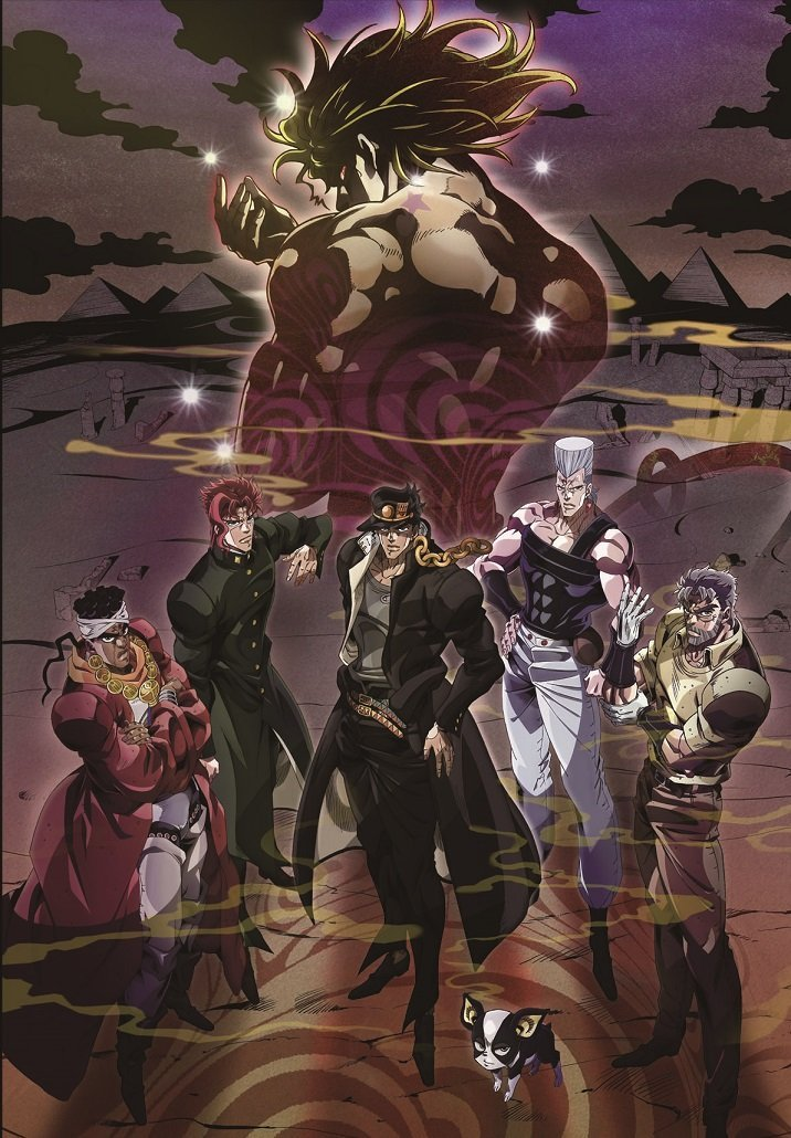 Jojo's Bizarre Adventure Stardust Crusaders 2nd Season visual haruhichan.com winter 2015 anime