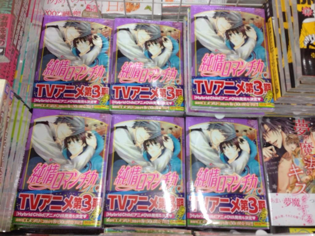 Junjou Romantica Third Season announced Junjou Romantica 3 Junjou Romantica 3rd season