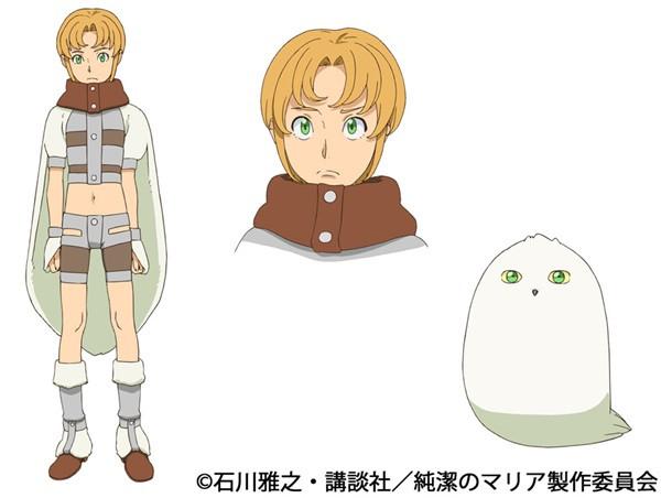 Junketsu no Maria anime character design Priapos Maria the Virgin Witch  haruhichan.com winter 2015 anime season