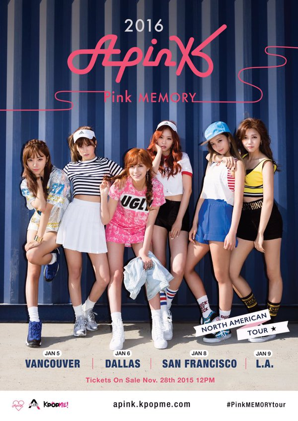K-Pop Group Apink